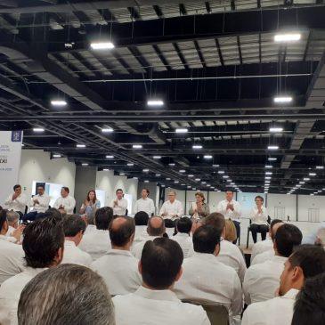 Avanzan los convenios de trabajo y cooperacion en México