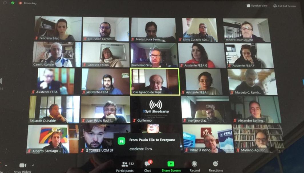 Encuentros virtuales para desarrollos concretos